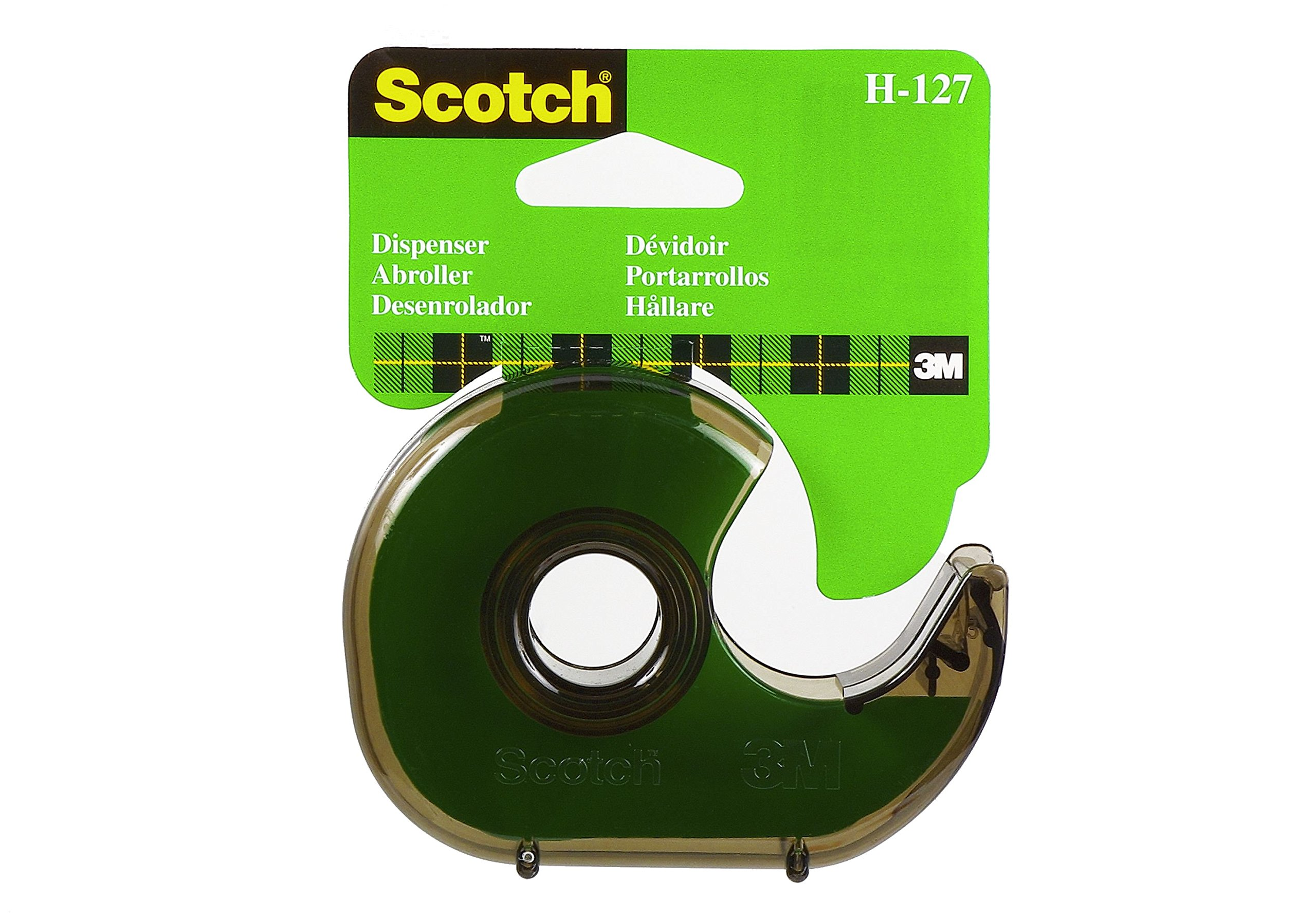 Scotch Hand Tape Dispenser H-127 (Color & Packaging may vary)