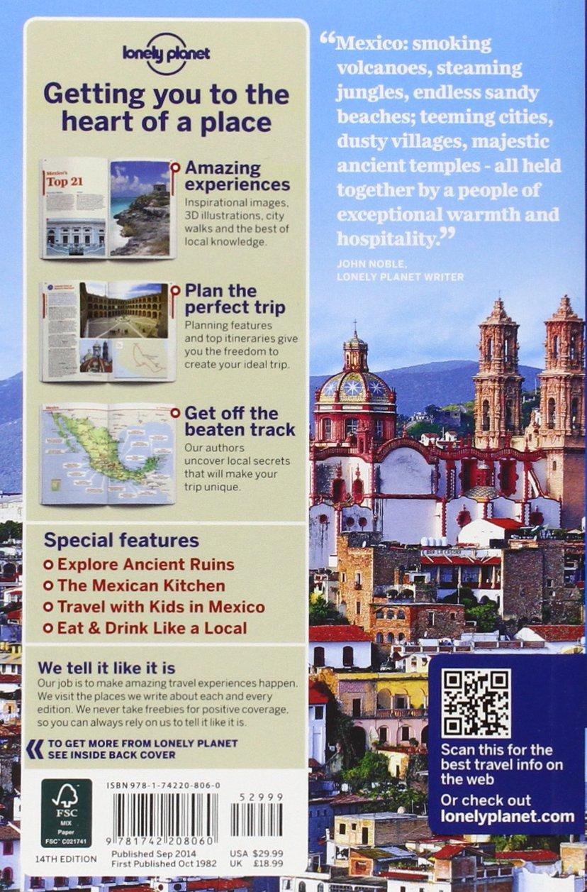 Lonely Planet Mexico (Travel Guide): Lonely Planet, John Noble, Kate  Armstrong, Stuart Butler, John Hecht, Beth Kohn, Adam Skolnick, Iain  Stewart, ...