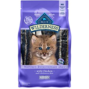 Blue Buffalo Wilderness Kitten Chicken