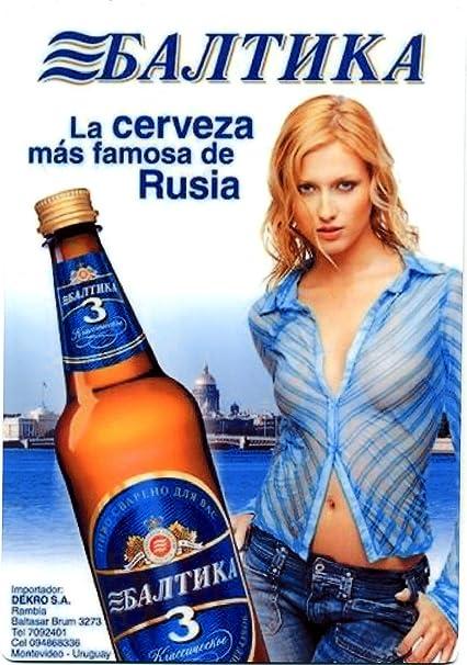 baltika ruso Beer Sign – Sexy Girl – Europea la cerveza: Amazon.es: Hogar