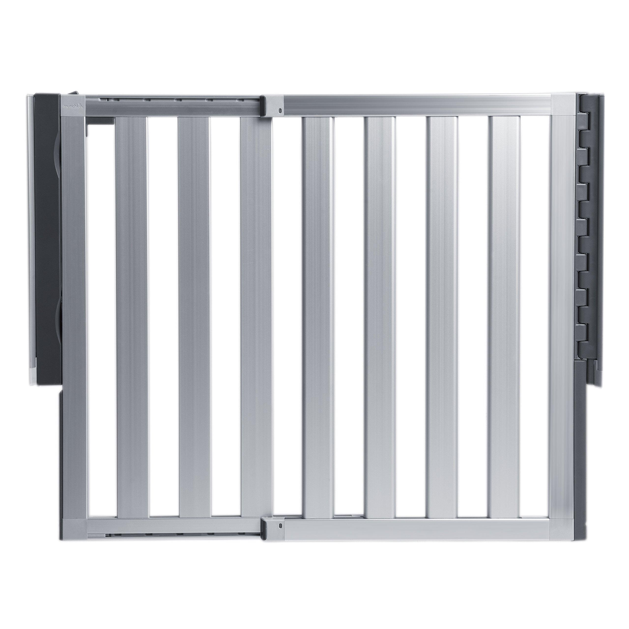 Munchkin Loft Aluminum Baby Gate, Silver by Munchkin