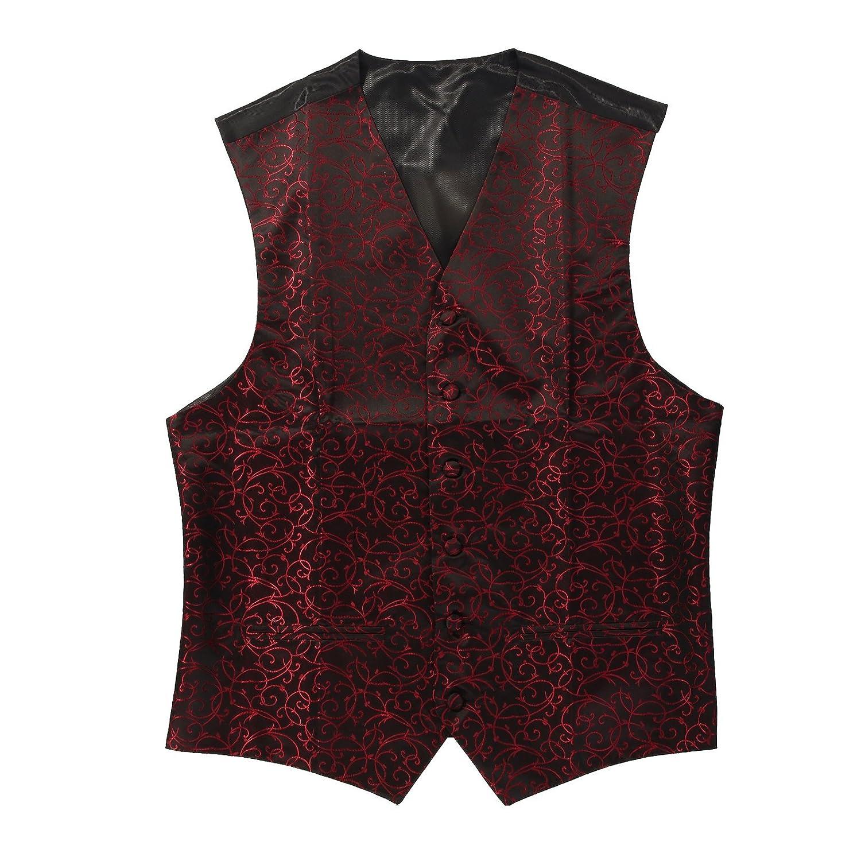 AllRight Waistcoat Swirl Wedding Waistcoats for Men