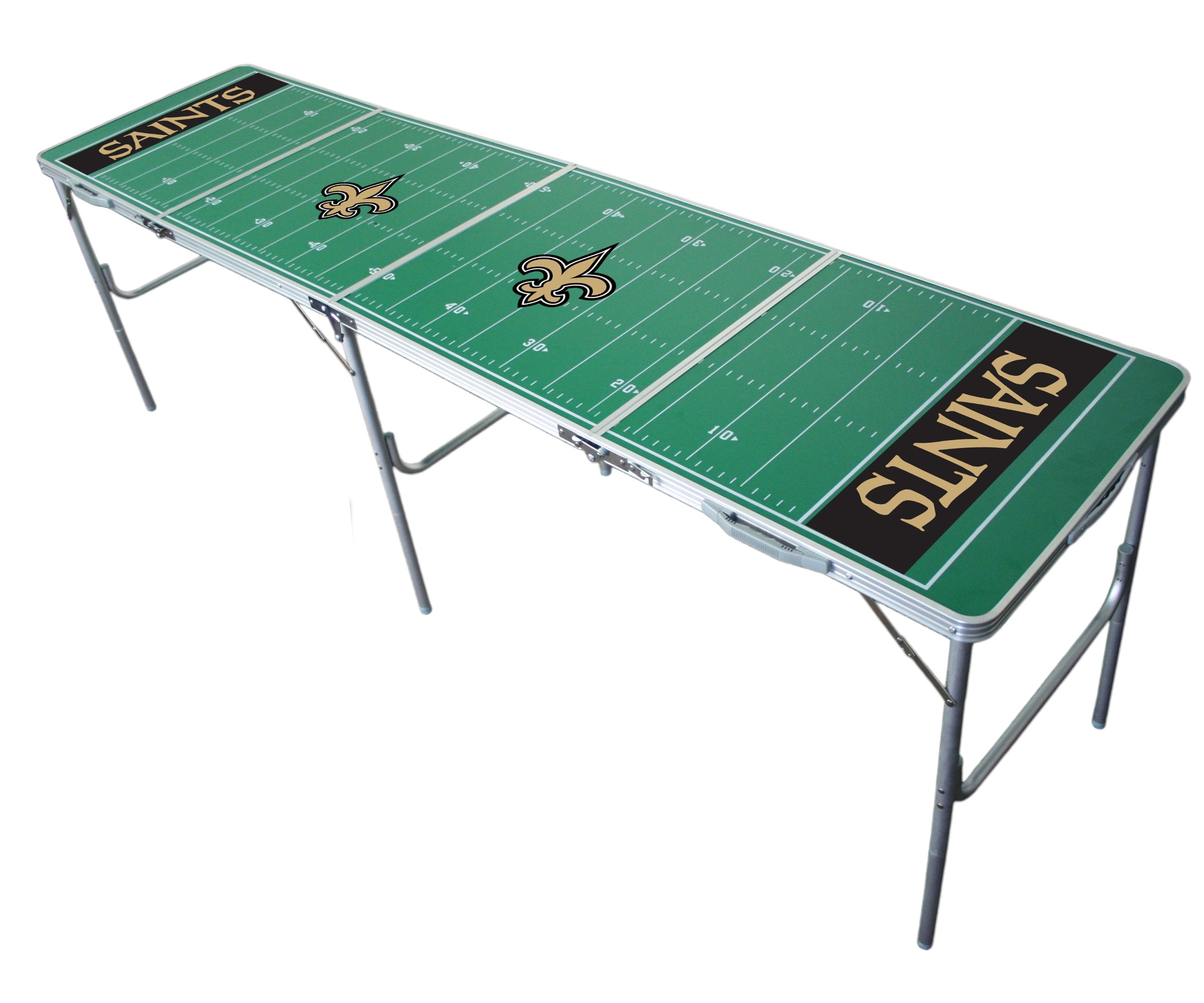 New Orleans Saints 2x8 Tailgate Table by Wild Sports by Wild Sports