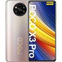 جوال شاومي بوكو اكس 3 برو، ثنائي شرائح الاتصال، ذاكرة داخلية 128GB، ذاكرة 6GB RAM، تقنية 4G LTE، برونزي معدني