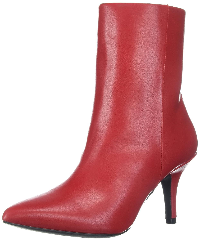 Qupid Women's Portia-05 Fashion Boot B074NCQX1C 7.5 B(M) US|Red