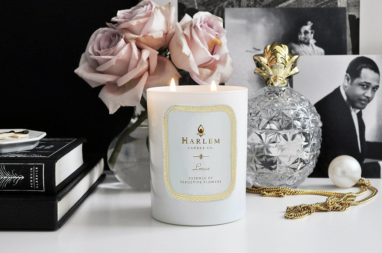 Large 12 oz Double Wick Harlem Candle Company Jar Candle Lenox Luxury Candle