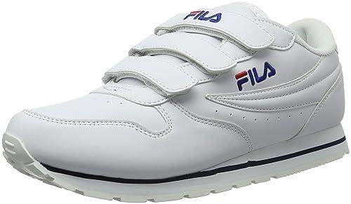 Fila Orbit Velcro Low - Zapatilla Baja Hombre: Amazon.es: Zapatos y complementos