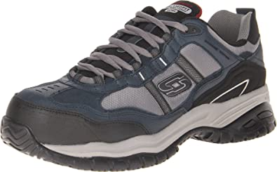 Men's Work Relaxed Fit Soft Stride Grinnel Comp Black/Gray - 10 D(M) US