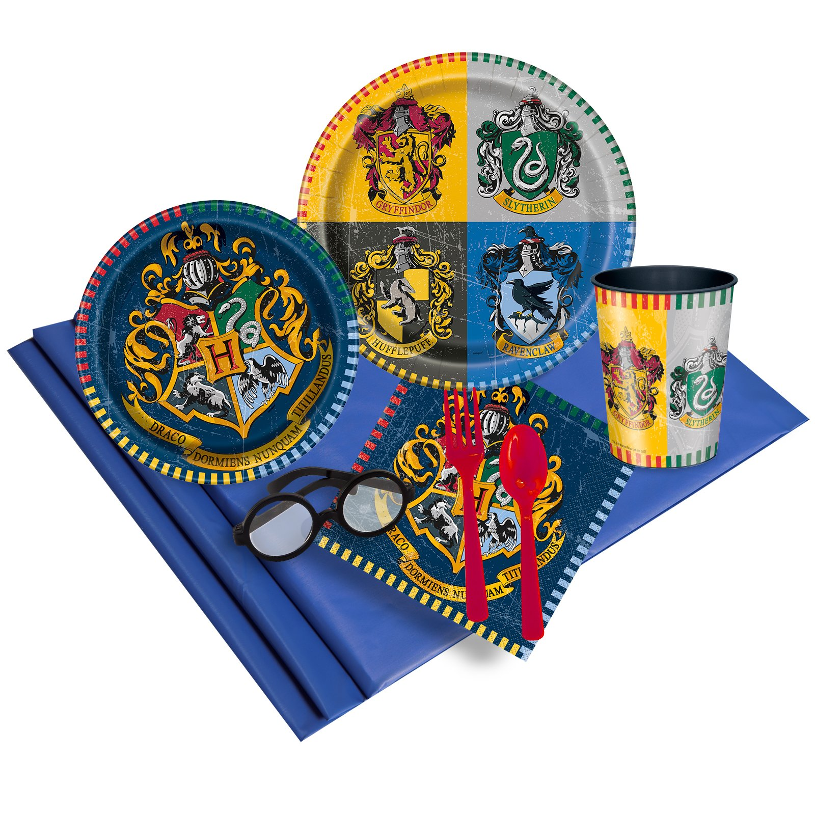 Harry Potter Party Supplies Pack with Plates, Cups and Napkins (16)