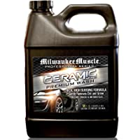 Milwaukee Muscle Car Shampoo - 50 Fl Oz - Professional Ceramic Car Wash Soap for Auto, Cars, Motorcycles, RV's and Boats…