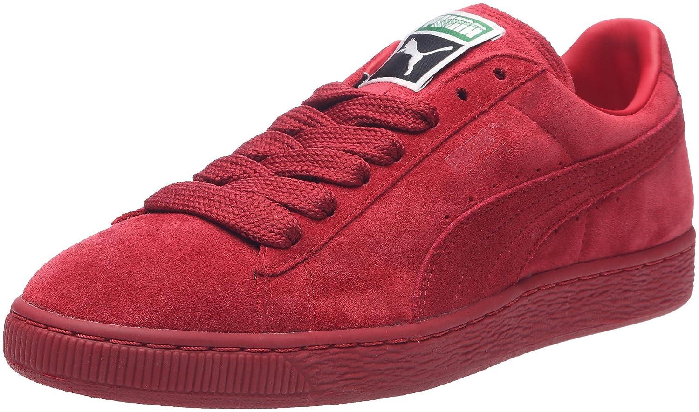 Puma Suede Classic+, Herren High-Top Sneaker  45 EU|Rot