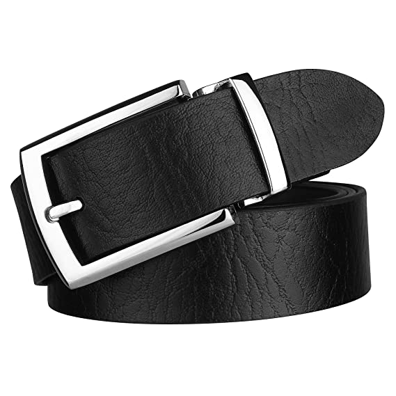 5bb5a0feff0 Urban alfami Men s Genuine Original Leather Black Belt (1Year Guarantee) -  belts for mens leather - belts for men casual stylish- belts for men formal  ...