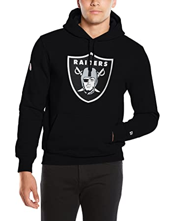 New Era Men s Team Logo Hoody Oakland Raiders Long Sleeve Hoodie, Black, X- 3c66dec67e