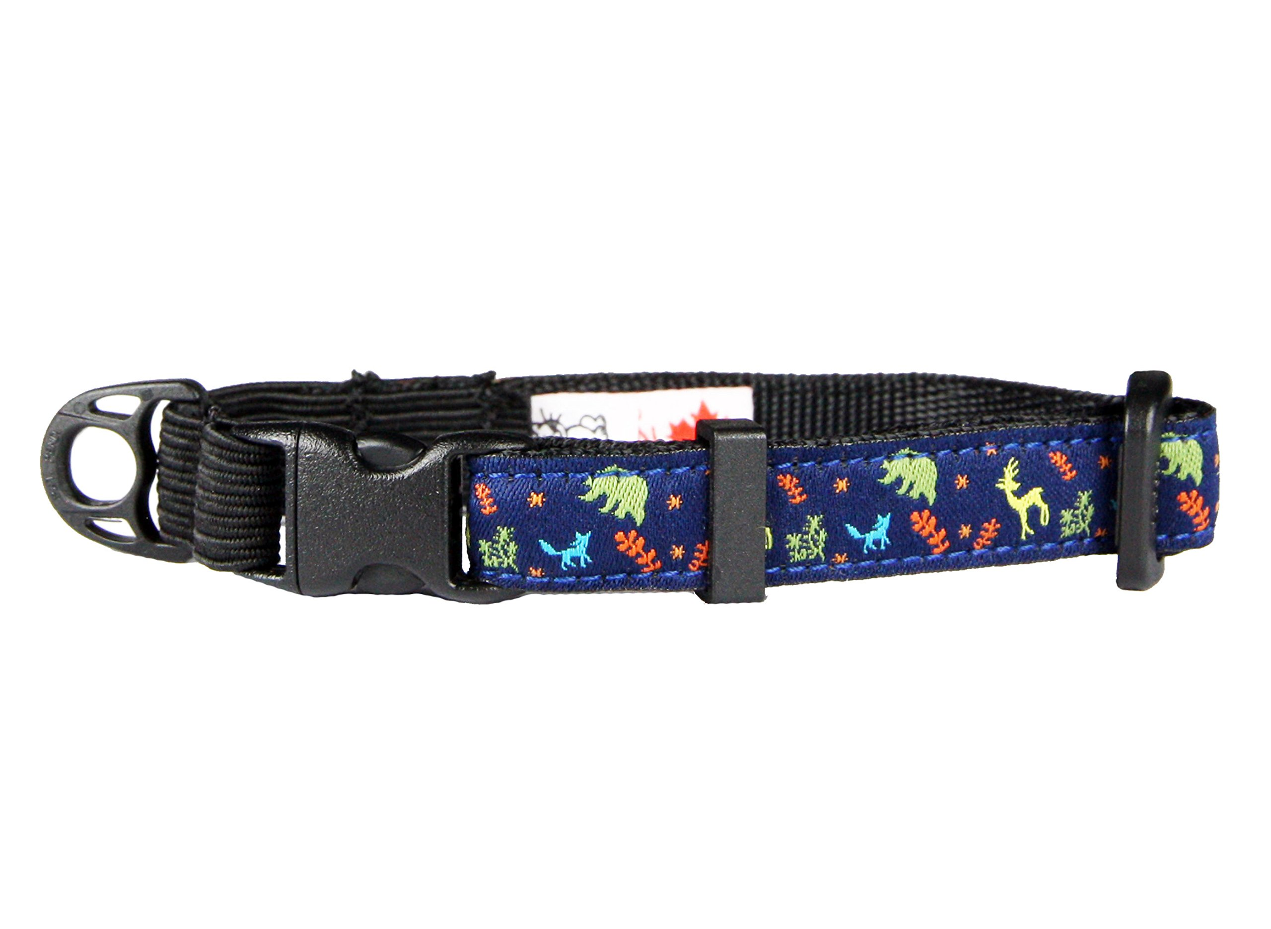 RC Pet Products 1/2'' Kitty Breakaway Cat Collar, Wilderness