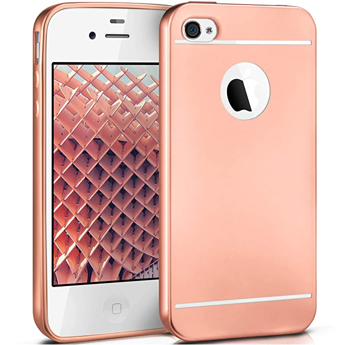 2 opinioni per MoEx Smooth Case per iPhone 4 / 4S | Custodia in Silicone con Effetto