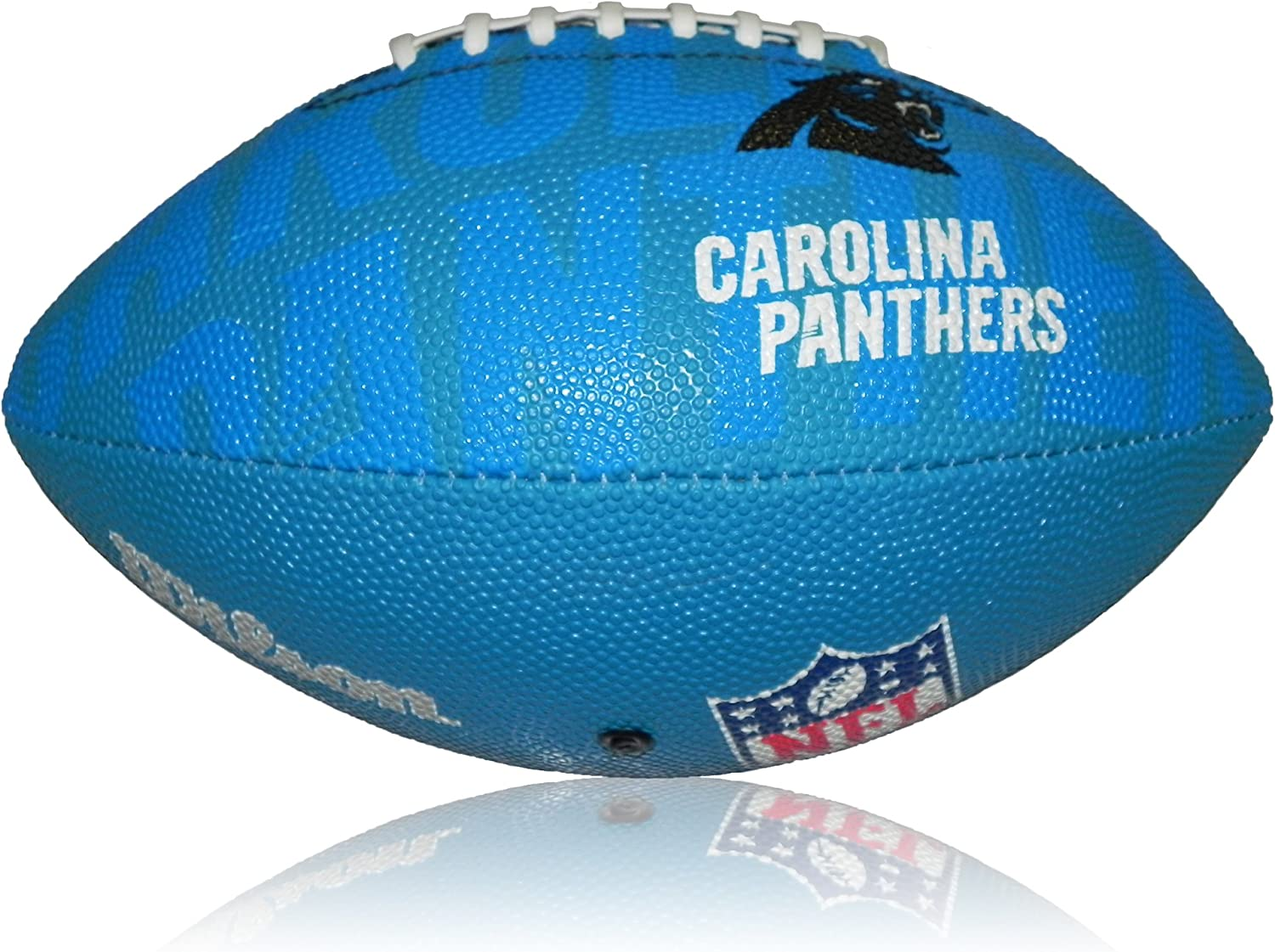 Wilson Football NFL Junior Carolina Panthers Logo - Balón de ...