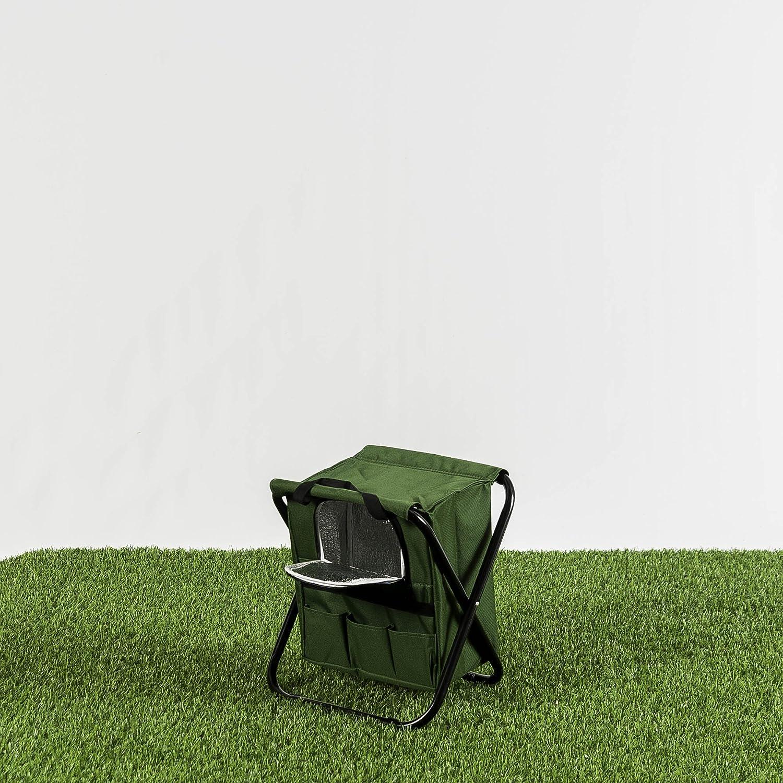 Habita Home Silla Nevera Plegable 32x27x34cm Color Verde: Amazon ...