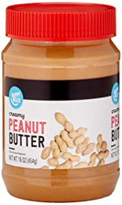 Amazon Brand - Happy Belly Creamy Peanut Butter, 16 Ounce