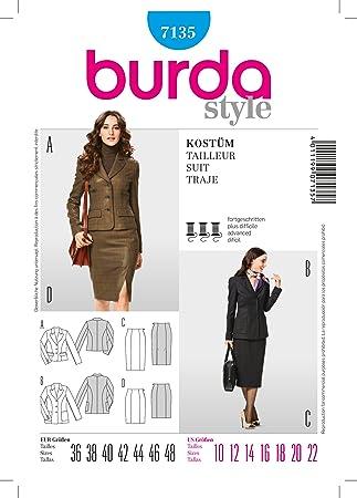 Amazon.com: Burda Style 7135 Size 10-22: Kitchen & Dining