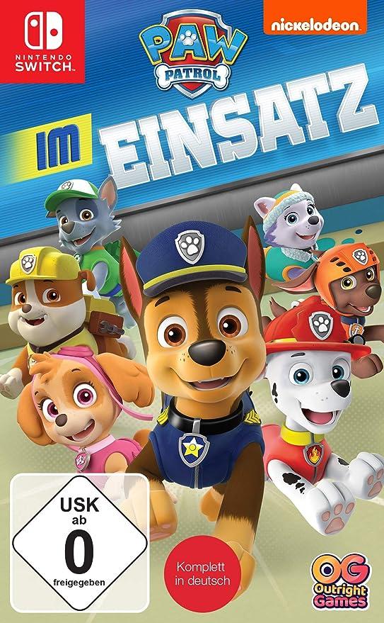 PAW Patrol: Im Einsatz - Nintendo Switch [Importación alemana ...
