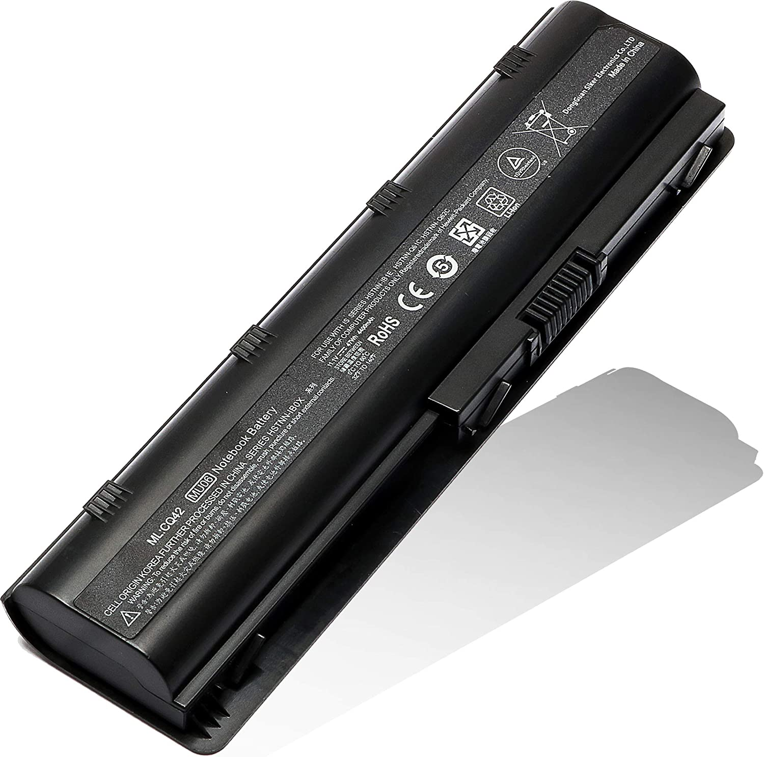 MU06 593553-001 Battery Replacement for HP Pavilion Dv7 fit Dv7-4053cl Dv7-4065dx Dv7-4285dx Dv7-6b55dx Dv7-6b78us Dv7-6135dx Dv7-7023cl Dm4 Dm4-2165dx Dm4-3050us Dm4-1265dx Notebook Spare 593554-001