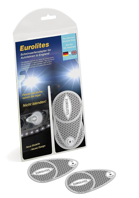 Eurolite Scheinwerfer-Adapter/-Umwandler zur Straß entauglichkeit im Vereinigten Kö nigreich, mit deutschen Anweisungen TravelSpot