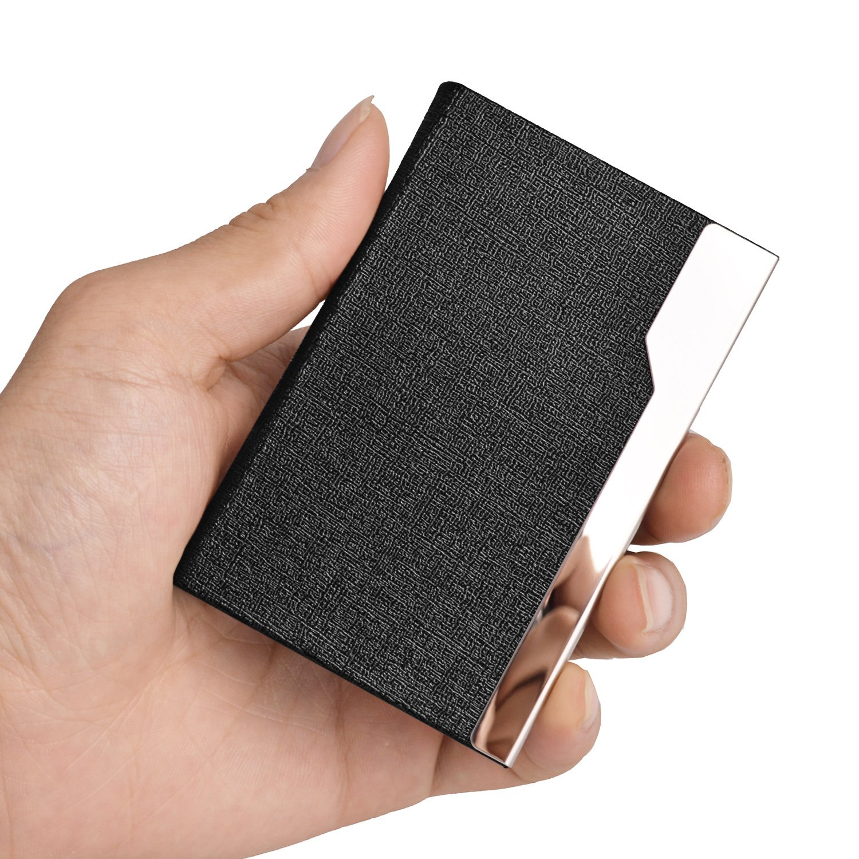 Amazon.com : MaxGear Business Card Case Professional Business Card ...
