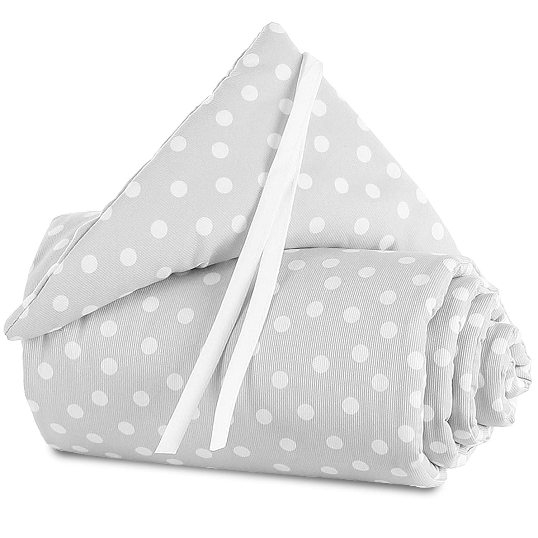 babybay Nestchen Piqu/é passend f/ür Modell Maxi Boxspring und Comfort wei/ß Sterne perlgrau