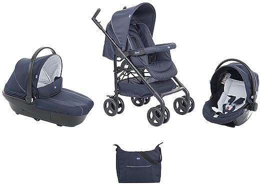 11 opinioni per Chicco 00079366640000 Trio Sprint With Kit Car, Blue Passion