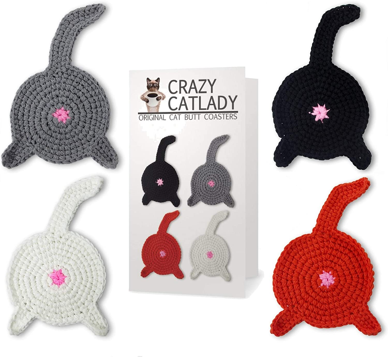 Cat Butt Coasters | Make | :1391x1500