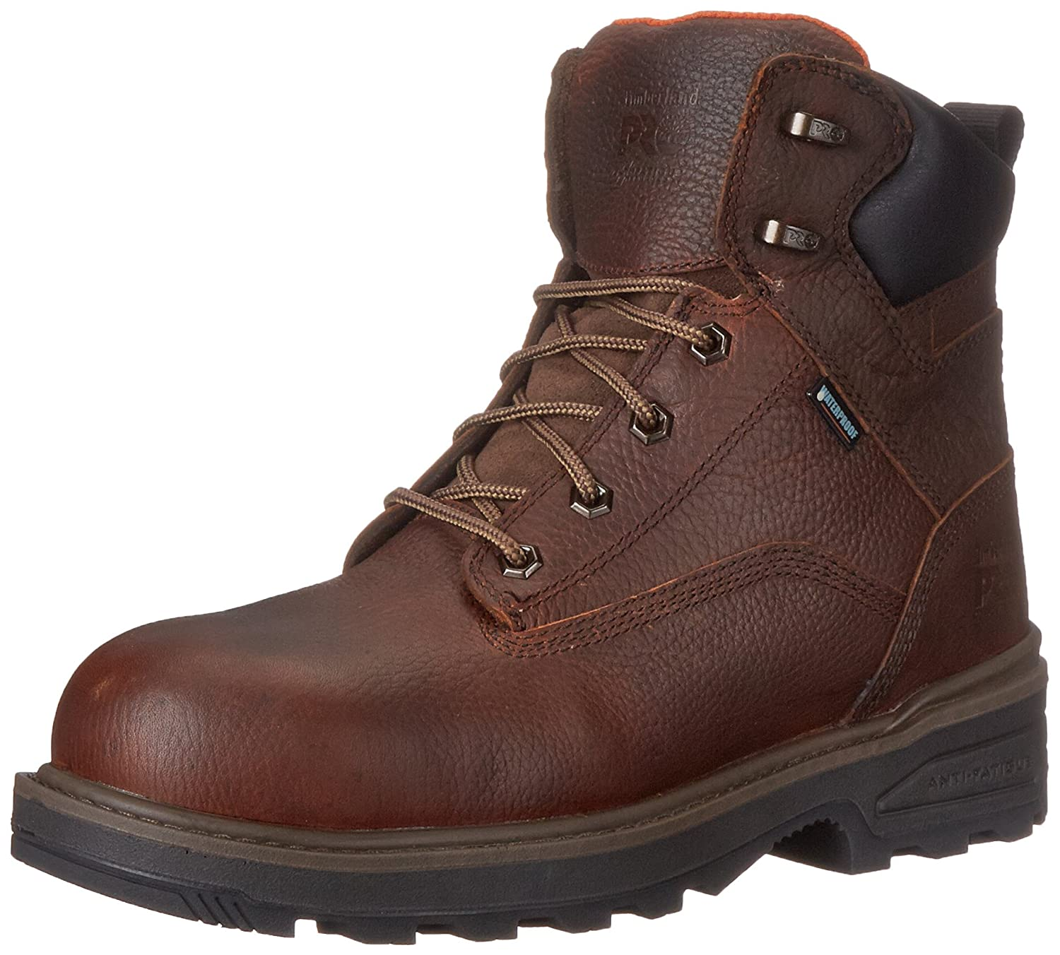 Timberland PRO メンズ B00SWVPN2O 10.5 D(M) US|Brown Tumbled Full Grain Leather Brown Tumbled Full Grain Leather 10.5 D(M) US