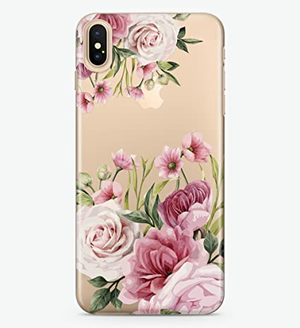 competitive price 217e8 4cf00 Hanogram Beautiful Flowers - iPhone X Case: Amazon.ca: Cell Phones ...