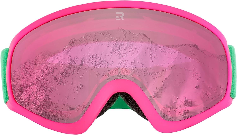 Retrospec Traverse G3 Youth Ski Snowboard Snowmobile Goggles