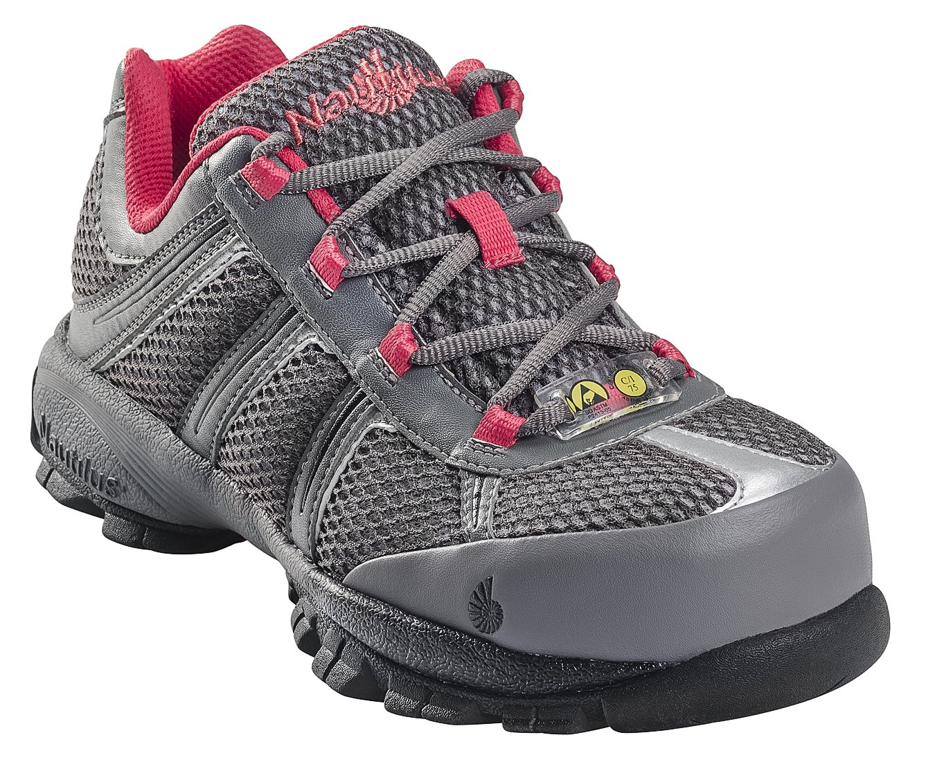 Nautilus Safety Footwear Women's 1393 Work Shoe,Grey,8.5 W US