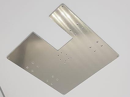 Anet A8 Impresora placa Portadores/H 5 mm de aluminio. TAMBIÉN para AM8