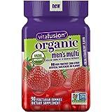 Vitafusion Organic Men's Gummy Multivitamin, 90 Count - Non-GMO, Gluten-Free, No Gelatin, No HFCS