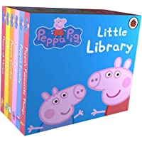 Little Library Peppa Pig Children English Story Book - 6 books collection