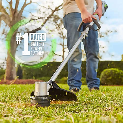 EGO Power ST1502LB 15-Inch String Trimmer 530CFM Blower Combo Kit with 2.5Ah Battery and Charger Included, Black