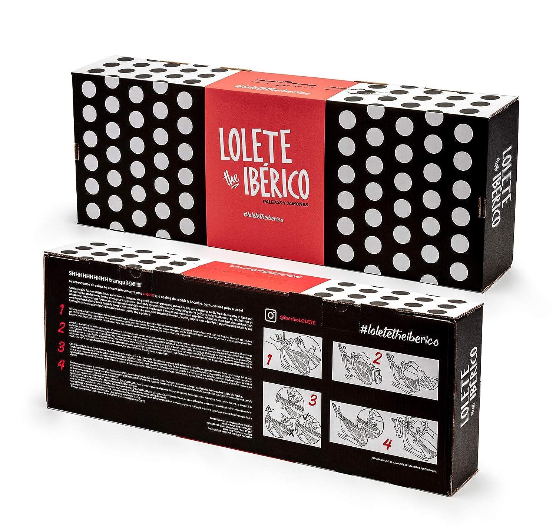 Jamon Iberico Paleta Iberica de Cebo Paletilla Peso 5,3 - 5.5kg ...