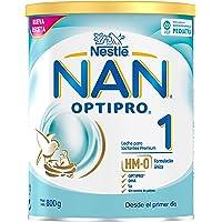 NAN OPTIPRO 1 - Desde el primer día - Leche para lactantes en polvo - Fórmula para bebé - 800g - Sin Aceite de Palma