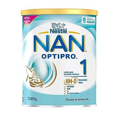 NAN OPTIPRO 1 - Leche para lactantes en polvo - Fórmula para bebé - Desde el