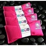 Namaste Yoga Lavender Eye Pillow - Pink - Set of 4