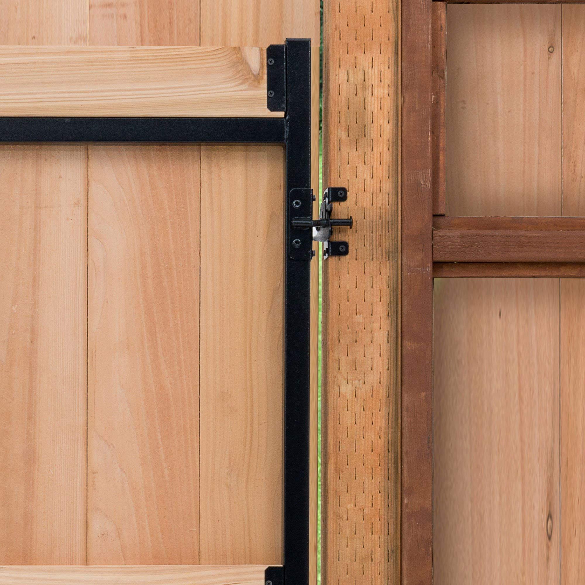 Adjust-A-Gate Steel Frame Gate Building Kit, 60''-96'' Wide, 6' High (2 Pack) by Adjust-A-Gate (Image #5)
