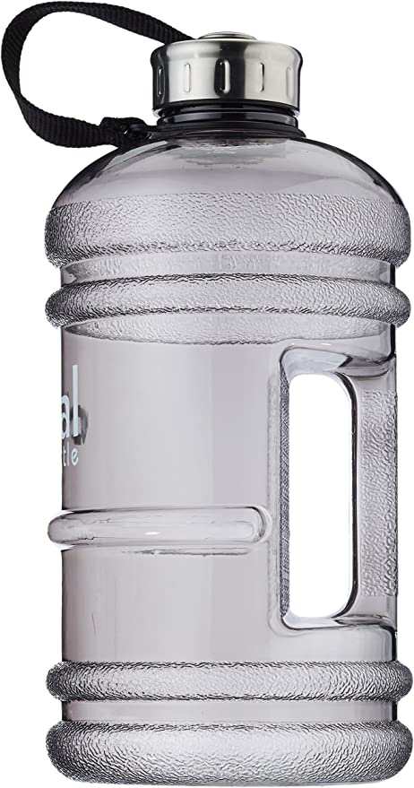 2.2 Liter Fitness und Spor Dual Bottle Trinkflasche Wasserflasche Training