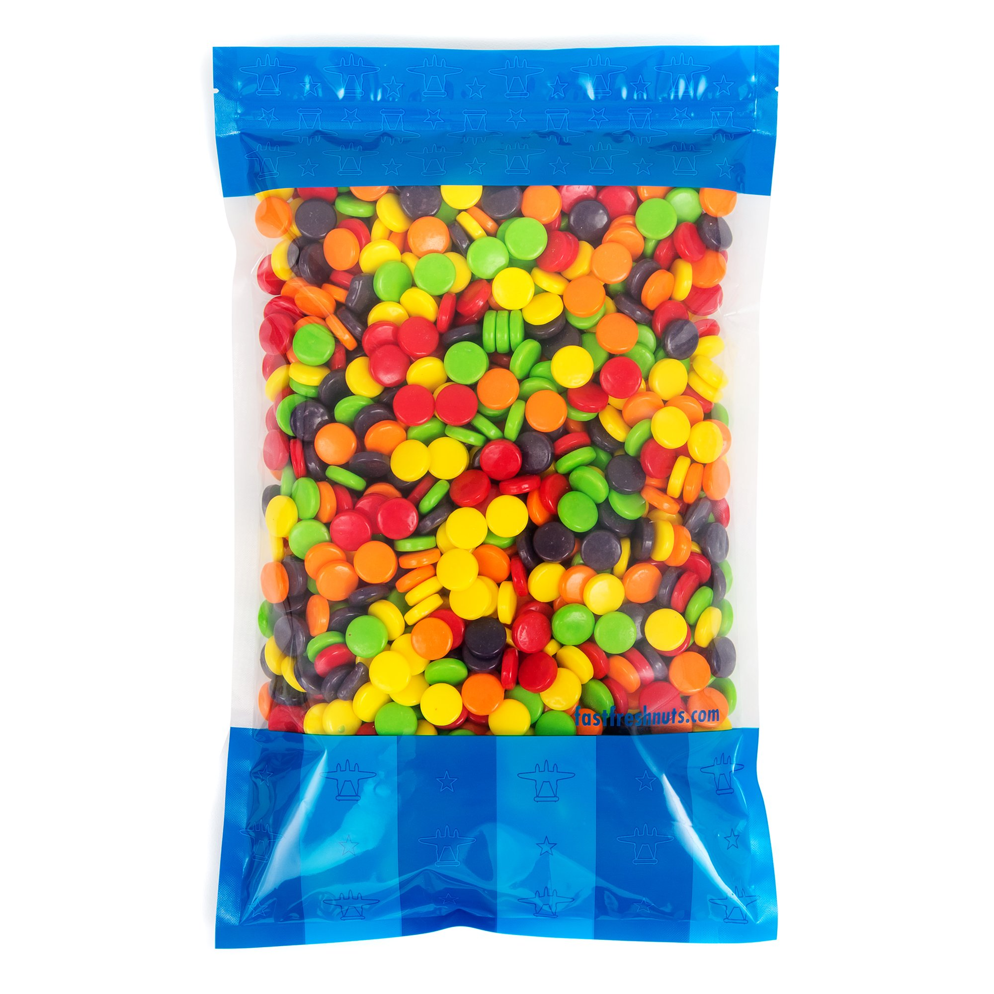 Bulk Chewy Spree Candy - 5 lbs in a Resealable Bomber Bag - Great For Parties - Office Candy Bowls - Vending Refills - Wholesale by Fast Fresh Nuts