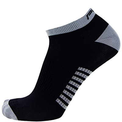 Ultra-Thin Lightweight Running Socks – No-Show Anti-blister Athletic Sock for Men and Women – Moisture Wicking