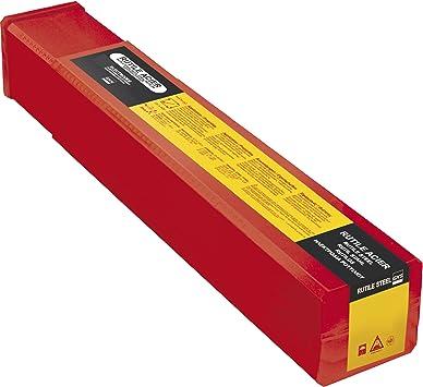 GYS 252 Rutile electrodos acero – Diámetro 2,5 mm – Caja de plástico, 1 pieza, 086005: Amazon.es: Bricolaje y herramientas