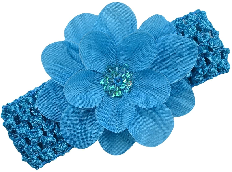 Amazon Claribel Baby Flower Headband Aqua Band Aqua Flower