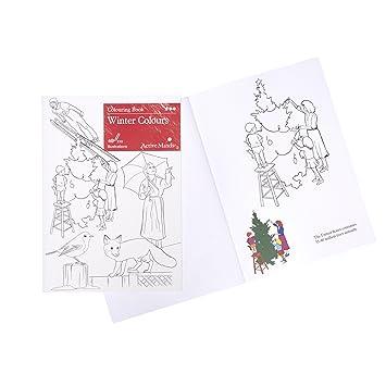 Libro de colorear Colores de invierno: Actividades y productos ...