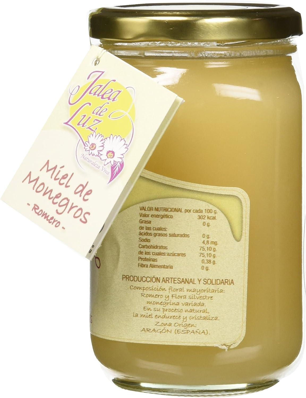 Jalea de Luz Miel Cruda Pura de Romero - 500 gr.: Amazon.es ...